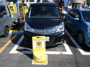 カーシェア 駐車 練習