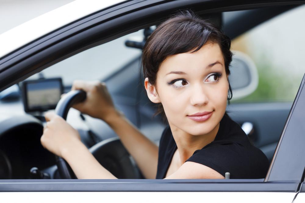 駐車 練習 女性
